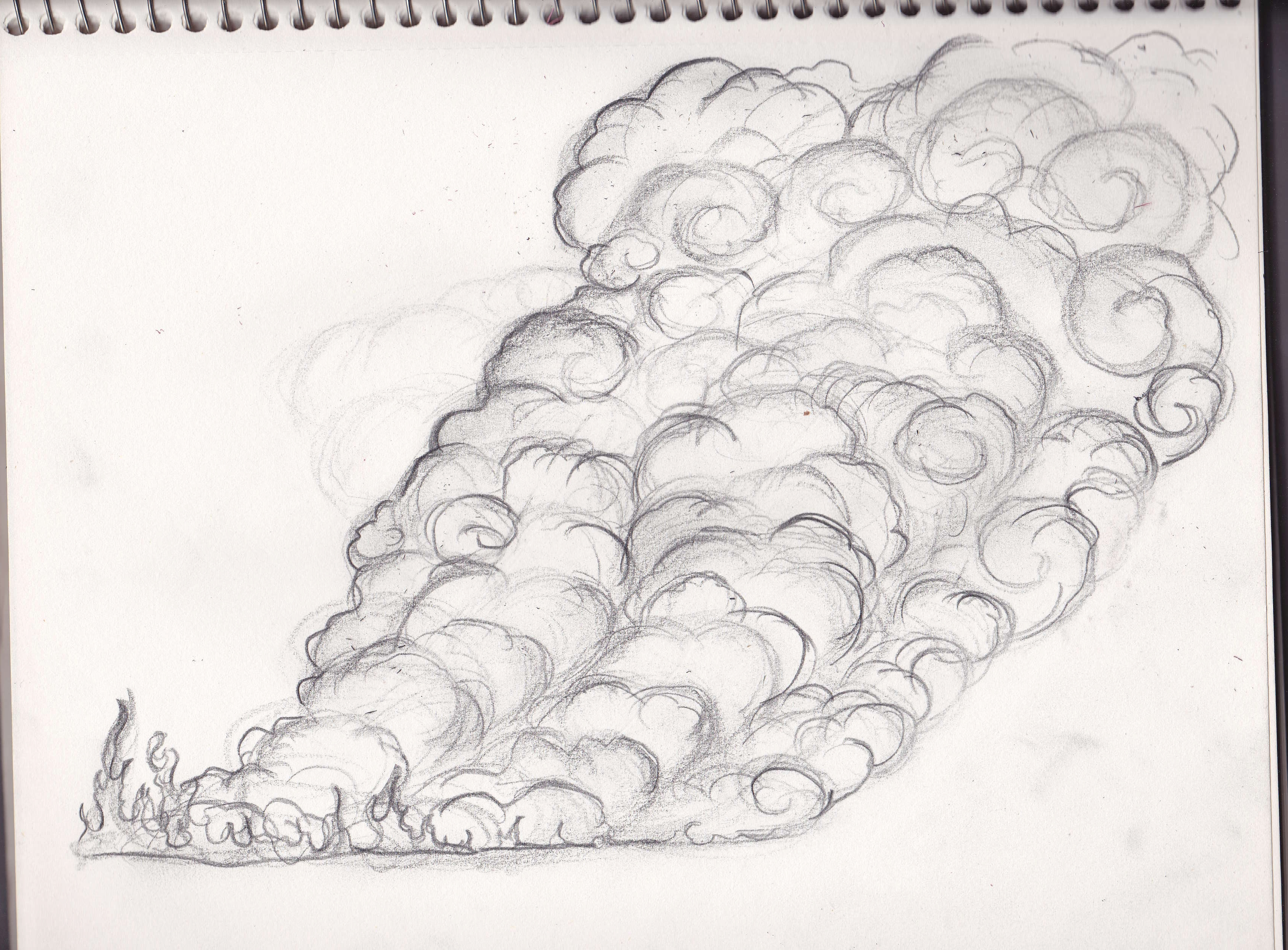 Portfolio Mulan EFX Drawings Smoke - Polyvore